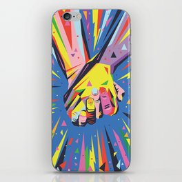 Band Together - Pride iPhone Skin