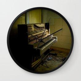 Upright Piano Wall Clock