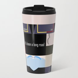 It's been a long road - Star Trek: Enterprise ENT - startrek Trektangle minimalist - trektangles Travel Mug