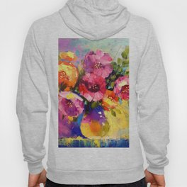 Bouquet of spring flowers Hoody