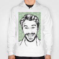 james franco Hoodies featuring Franco by naidl