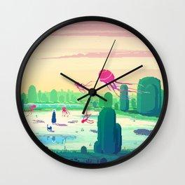 PHAZED PixelArt 5 Wall Clock