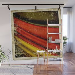 STICKER OF GERMANY flag Wall Mural