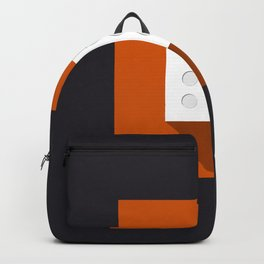 """Dice """"six"""" with long shadow in new modern flat design Backpack"""