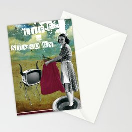 life on stand by Stationery Cards