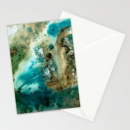 Acrylic Mediterranean Stationery Cards