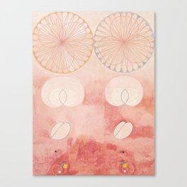Hilma af Klint The Ten Largest No. 09 Old Age Group IV Canvas Print