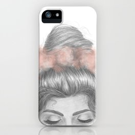 Sinking thoughts iPhone Case