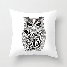 YMMY OWL Throw Pillow