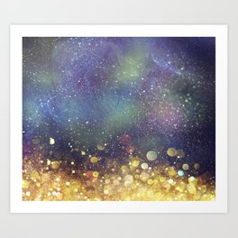 Galaxy I Art Print