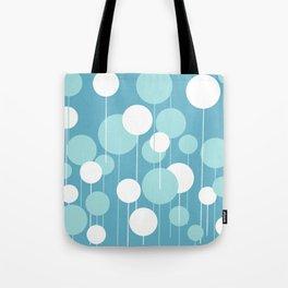 Float - Blue & White Tote Bag