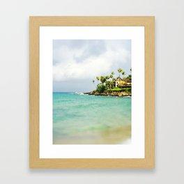 Napili Bay Framed Art Print