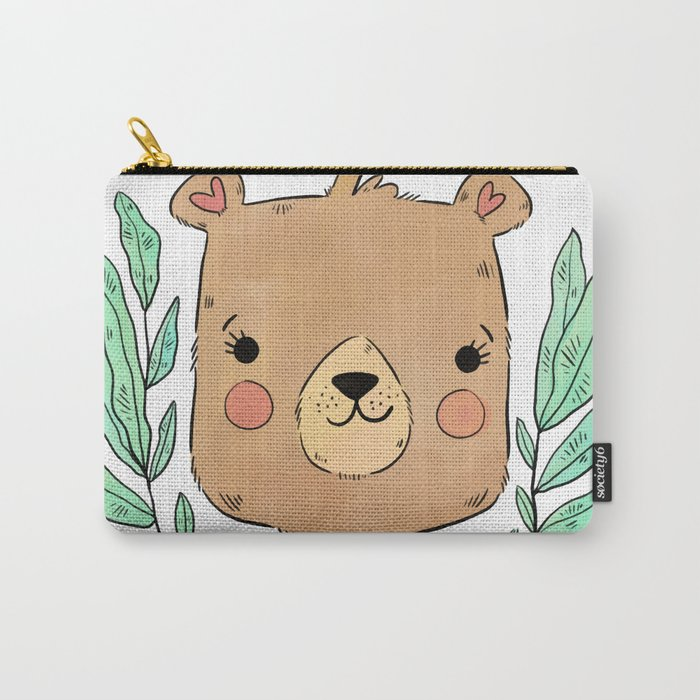 Bear Carry-All Pouch