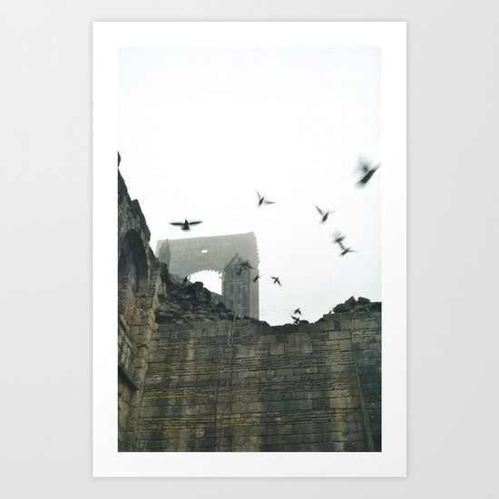 Gone with the wind... Art Print