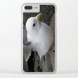 Red-Legged Kittiwake Clear iPhone Case