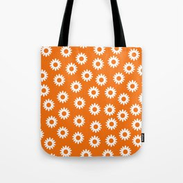 Daisies - Orange BG Tote Bag