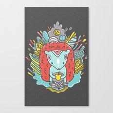 Abstract Hedgehog Canvas Print
