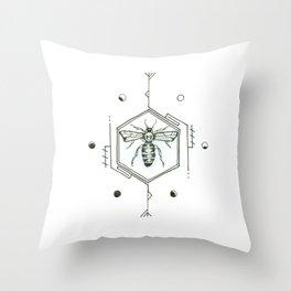 Buzz Throw Pillow