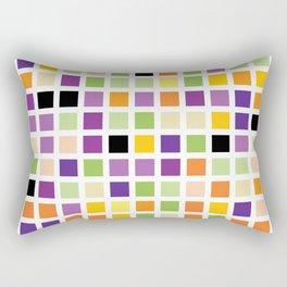 City Blocks - Eggplant #490 Rectangular Pillow