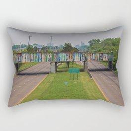 Zoo Mural II Rectangular Pillow