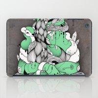 mona lisa iPad Cases featuring Mona Lisa by Gaetan billault