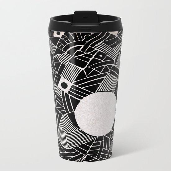 - abstinence - Metal Travel Mug