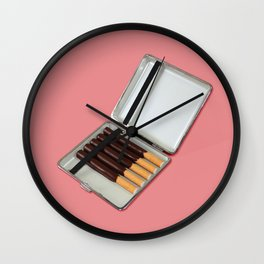 Have a break // Chocolate cigaret Wall Clock