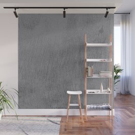 Textured Gray Wall Mural