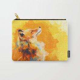 Blissfull Light - Fox portrait Carry-All Pouch