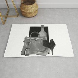 Fashion Illustration - Ink Wash Rug