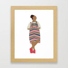 Bawse Sun Catcher Framed Art Print