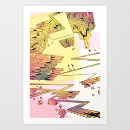 Bismuth Palace Art Print