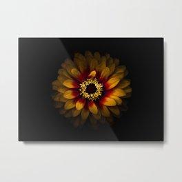 Backyard Flowers 69 Color Version Metal Print