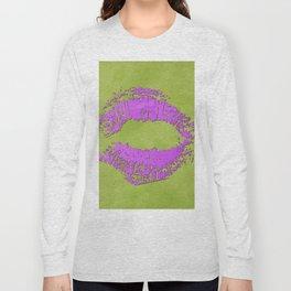 dp048-7 Watercolor kiss Long Sleeve T-shirt