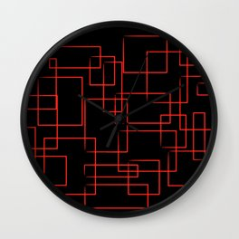 Flashback Dark Wall Clock