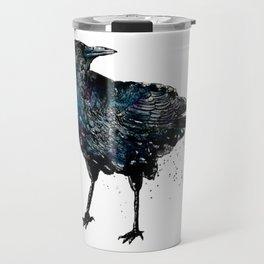 The Crow Totem Travel Mug