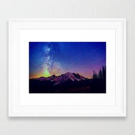 Milky Way V Framed Art Print