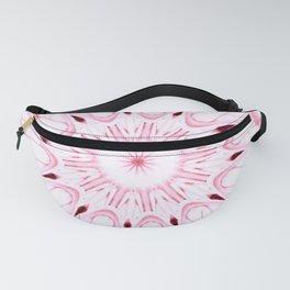 Rose Pink Mandala Explosion Fanny Pack