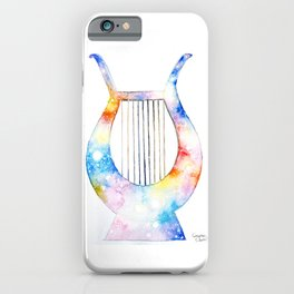 The lyre of the poet iPhone Case