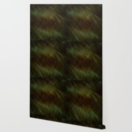 Green and Brown Abstract Wallpaper
