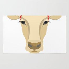 Farm Animal Love Cow Farmer Gifts Rug