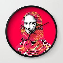 Mona Lisa Platina 5 Wall Clock