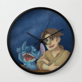 Riders of the Stars Wall Clock