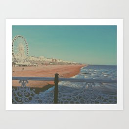 Brighton, UK 2018 Art Print