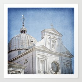 The Cathedral - Venice, Italy Art Print