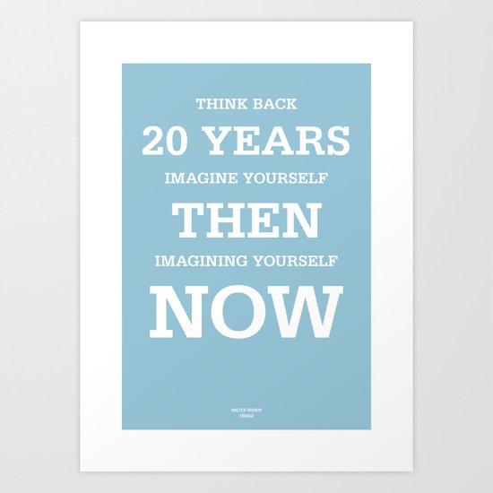 20 Years Art Print