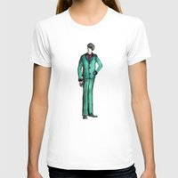 givenchy T-shirts featuring Beetles Green Dandy by Notsniw