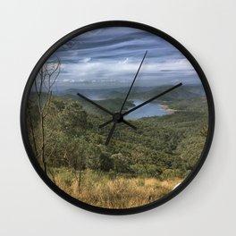 Eildon Lake Mountain View Wall Clock