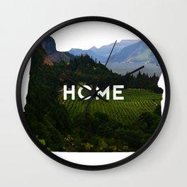 Oregon Home Wall Clock