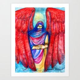 Keeper of Tears by Joshua B. Wichterich Art Print